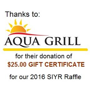 AquaGrill thanks