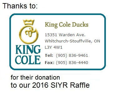 KING COLE thanks