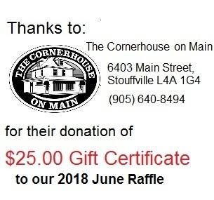 Corner House thanks